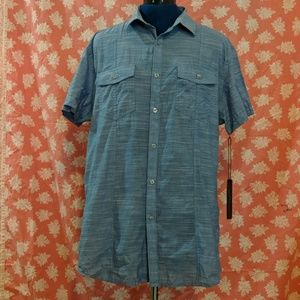Marc Anthony short sleeve collared button up